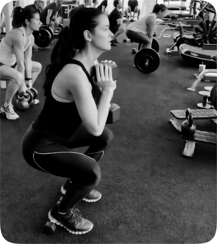 Raven Simone Gates workout